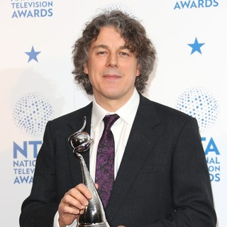 Alan Davies in National Television Awards 2013 - Press Room