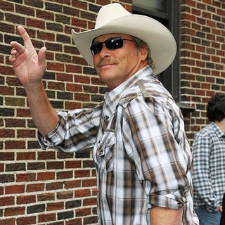 Alan Jackson in Celebrities for The Late Show with David Letterman