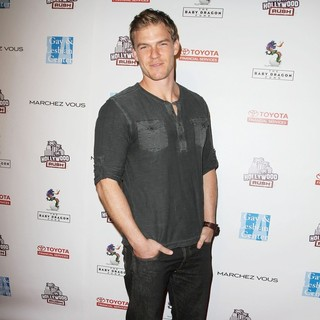 Alan Ritchson in 2nd Annual Hollywood Rush Benefiting The Baby Dragon Fund