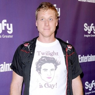 Alan Tudyk in The Entertainment Weekly and SyFy 2009 Comic Con Party