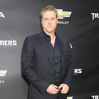 Alan Tudyk in New York Premiere of Transformers Dark of the Moon