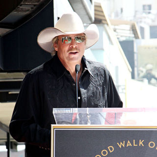 Alan Jackson in Alan Jackson is honoured with the 2405th star on the Hollywood Walk of Fame