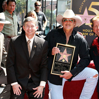 Alan Jackson, Shawn Parr in Alan Jackson is honoured with the 2405th star on the Hollywood Walk of Fame