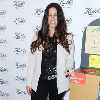 Alanis Morissette in Kiehl's Launches Environmental Partnership Benefiting Recycle Across America