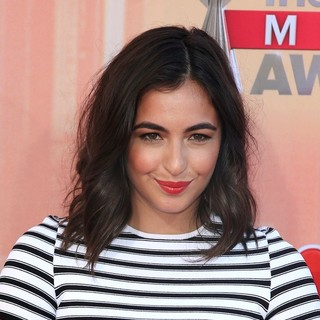 Alanna Masterson in 2nd Annual iHeartRadio Music Awards - Arrivals