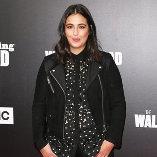 Alanna Masterson in AMC Presents Live 90-Minute Special Edition of Talking Dead