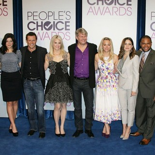 Jason Aldean, Casey Wilson, Jason O'Mara, Monica Potter, Fred Nelson, Kaley Cuoco, Sophia Bush, Anthony Anderson, Mark Burnett in The 2013 People's Choice Awards Nominee Announcements
