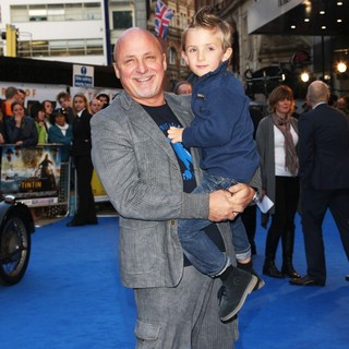 Aldo Zilli in The UK Film Premiere of The Adventures of Tintin: The Secret of the Unicorn - Arrivals
