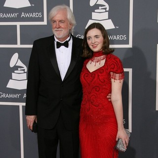 Robert Aldridge, Micaela Aldridge in 54th Annual GRAMMY Awards - Arrivals