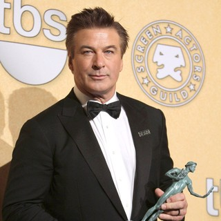 Alec Baldwin in The 18th Annual Screen Actors Guild Awards - Press Room