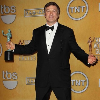 Alec Baldwin in 19th Annual Screen Actors Guild Awards - Press Room