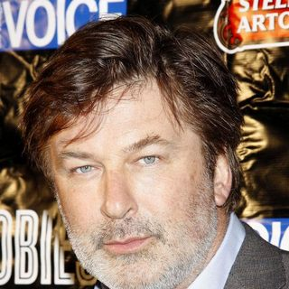 Alec Baldwin in The 56th Annual Village Voice Obie Awards Ceremony - Press Room