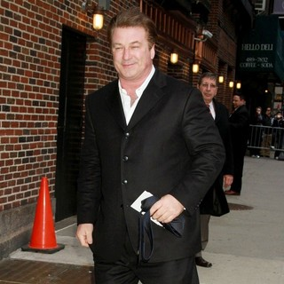 Alec Baldwin in The Late Show with David Letterman - Arrivals