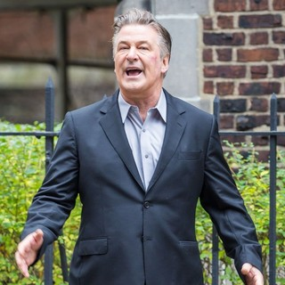 Alec Baldwin - On The Set of Movie Blind