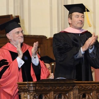 Alec Baldwin in Alec Baldwin Received An Honorary Doctor of Musical Arts Degree from The Manhattan School of Music