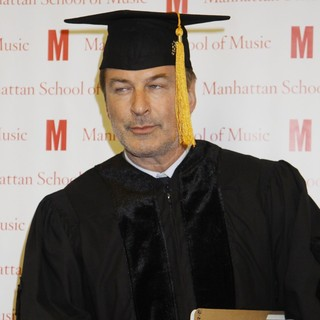 Alec Baldwin - Alec Baldwin Received An Honorary Doctor of Musical Arts Degree from The Manhattan School of Music