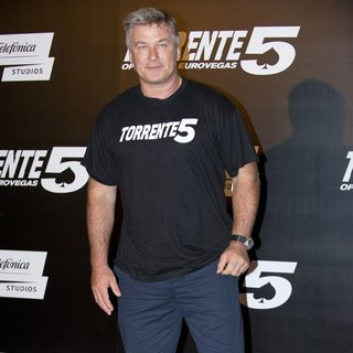 Alec Baldwin in Photocall and Press Conference for Torrente 5: Operacion Eurovegas