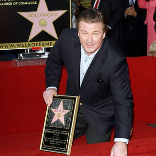 Alec Baldwin in Alec Baldwin Hollywood Walk of Fame Induction Ceremony