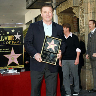 Alec Baldwin - Alec Baldwin Hollywood Walk of Fame Induction Ceremony