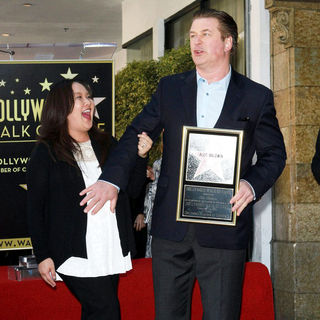 Kristy Chang, Alec Baldwin in Alec Baldwin Hollywood Walk of Fame Induction Ceremony