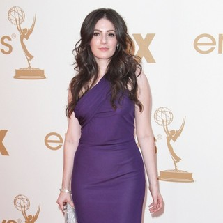 Aleksa Palladino in The 63rd Primetime Emmy Awards - Arrivals