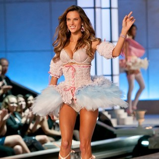 Alessandra Ambrosio in 2011 Victoria's Secret Fashion Show - Runway