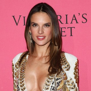 Alessandra Ambrosio in Victoria's Secret Fashion Show Viewing Party