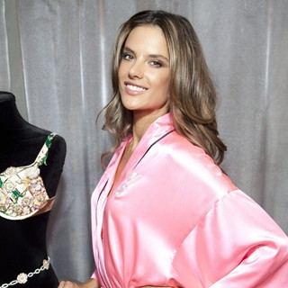 Alessandra Ambrosio in 2012 Victoria's Secret Fashion Show - Backstage