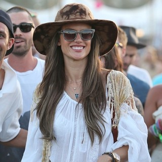 Alessandra Ambrosio in The 2013 Coachella Valley Music and Arts Festival - Week 1 Day 1