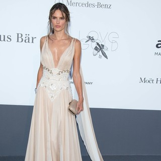 Alessandra Ambrosio in 66th Cannes Film Festival - amfAR's 20th Annual Cinema Against AIDS - Arrivals