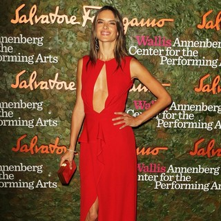 Alessandra Ambrosio in Opening Night Gala of The Wallis Annenberg Center for The Performing Arts