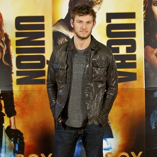 Alex Pettyfer in The Madrid Photocall for I Am Number Four