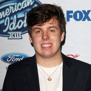 Alex Preston in FOX's American Idol XIII Finalists Party