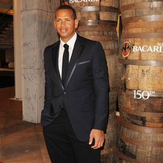 Alex Rodriguez in Bacardi 150th Anniversary Celebration