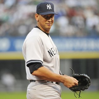 Alex Rodriguez in A Game Against The Chicago White Sox