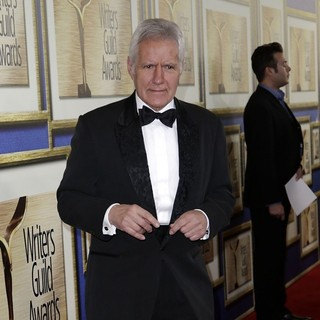 Alex Trebek in The 66th Annual Writer's Guild Awards - Arrivals