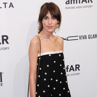 Alexa Chung in The amfAR Gala 2013