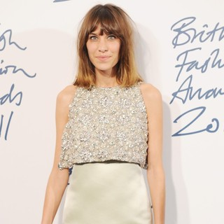 Alexa Chung in British Fashion Awards 2011 - Arrivals
