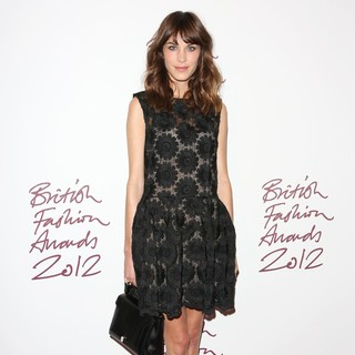 Alexa Chung in The British Fashion Awards 2012 - Arrivals
