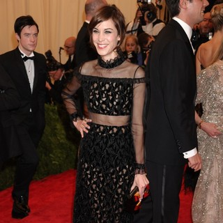 Alexa Chung in PUNK: Chaos to Couture Costume Institute Gala