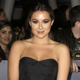 Alexa Vega in The Premiere of The Twilight Saga's Breaking Dawn Part II