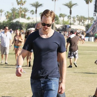 Alexander Skarsgard in Celebrities at The 2012 Coachella Valley Music and Arts Festival - Week 2 Day 3