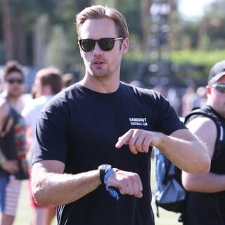 Alexander Skarsgard in The 2013 Coachella Valley Music and Arts Festival - Week 1 Day 2