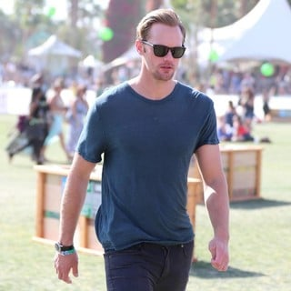 Alexander Skarsgard in The 2013 Coachella Valley Music and Arts Festival - Week 1 Day 3