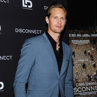 Alexander Skarsgard in New York Screening of Disconnect