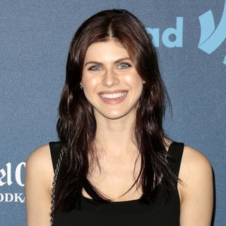 Alexandra Daddario in 24th Annual GLAAD Media Awards - Arrivals