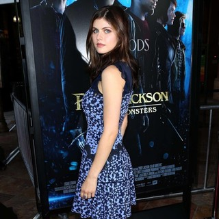 Alexandra Daddario in Percy Jackson: Sea of Monsters Premiere