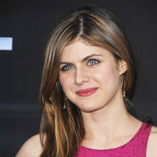 Alexandra Daddario in The Premiere of The Host - Arrivals