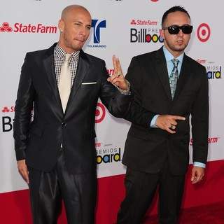 Alexis & Fido in Billboard Latin Music Awards 2012 - Arrivals