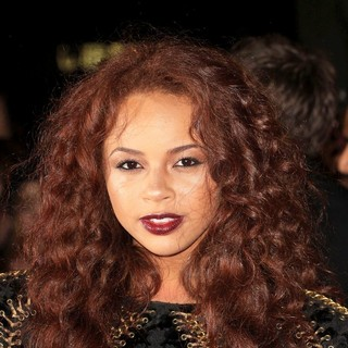 Alexis Jordan in The MOBO Awards 2011 - Arrivals